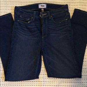 PAIGE Hoxton Crop Jeans in Oria